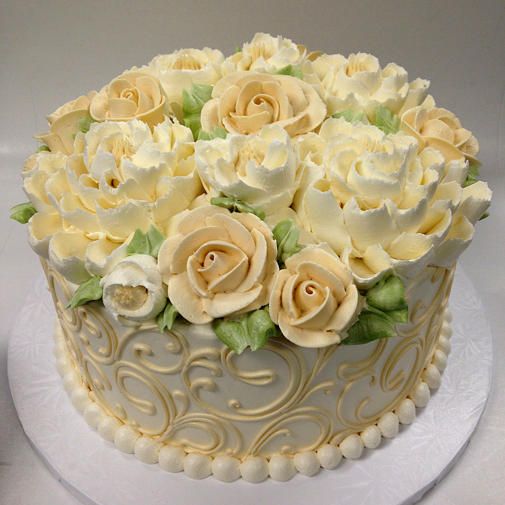 Classic cake collection white flower cake shoppe classic scroll 5 mightylinksfo