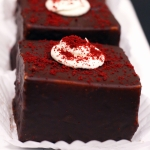 Red Velvet Layered Brownie