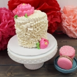 Simply Sweet Ribbon Ruffle and Macarons