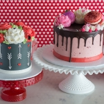 Classic Cupids Arrow and Classic Valentines Sweet Cake