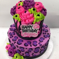 Signature Wild Animal Print 2 Tier