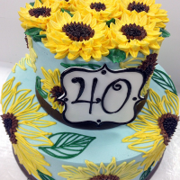 Signature 40 Sunflowers