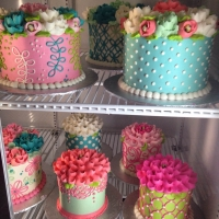 "4"" and 6"" case cakes"