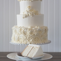 Wedding Cake Slice