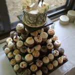 Gourmet Wedding Cupcakes