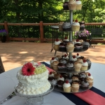 Retro Cake with Gourmet Cupcakes