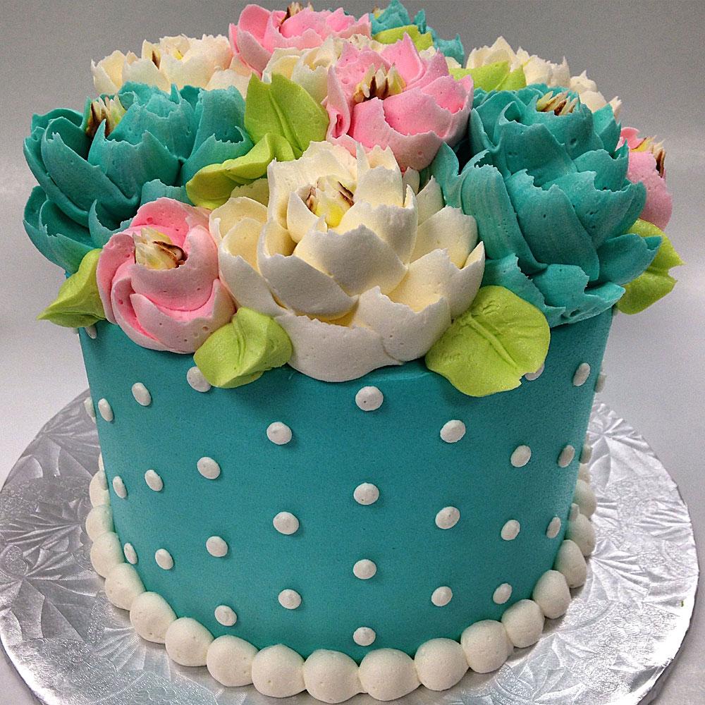Flavor White Flower Cake Shoppe